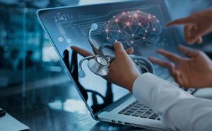médicos discutindo diagnóstico por meio do sequenciamento genético